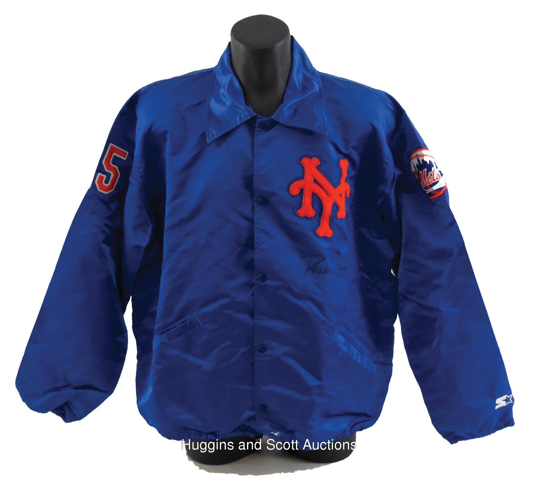 free shipping e04c3 f9bb1 Ron Darling 1990-1991 New York Mets Game-Worn Warm-Up Jacket ...