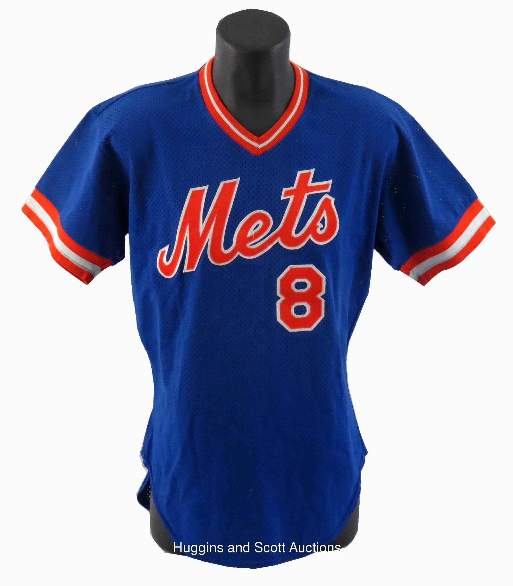 the best attitude 7aef4 84216 Gary Carter 1985 Signed Game-Worn New York Mets Batting ...