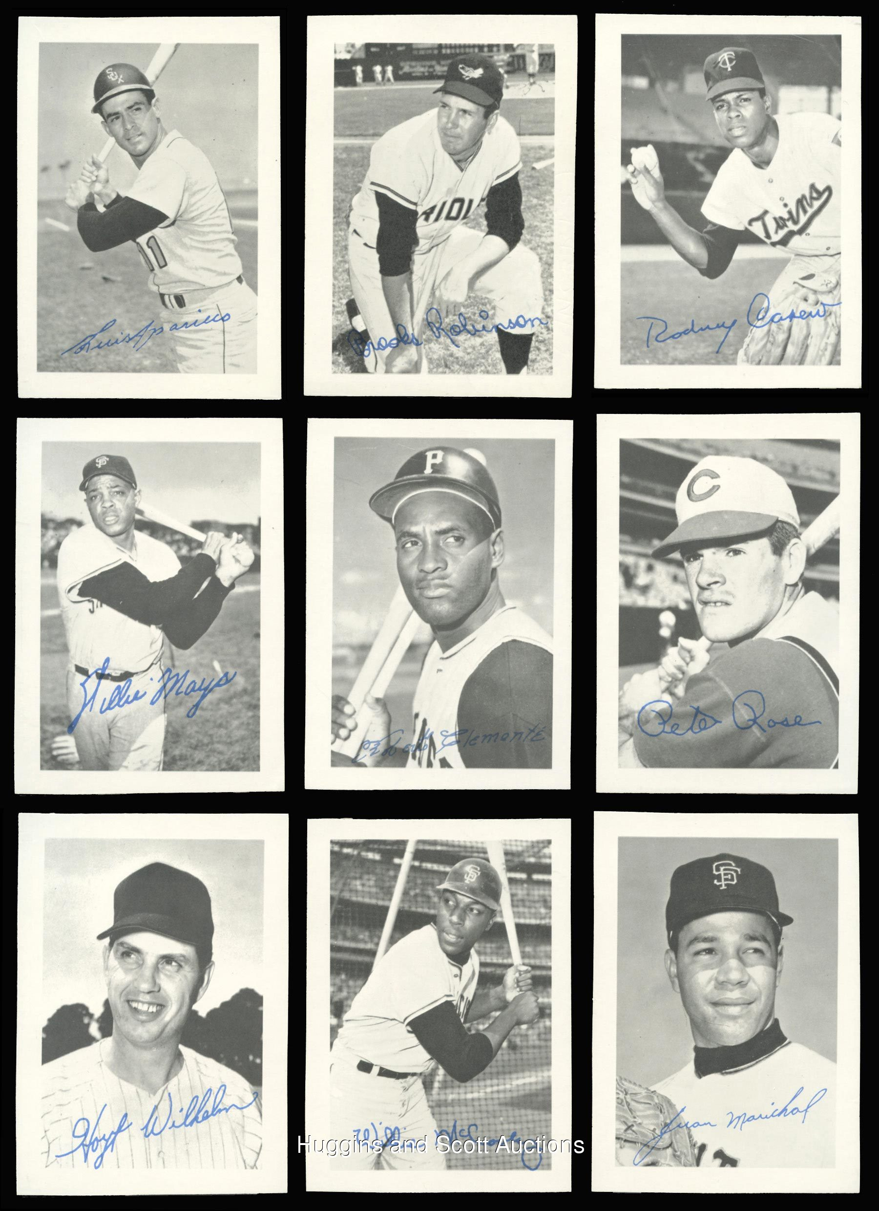 1969 Topps Deckle Edge Baseball Proof Near Set Of 3233 Cards